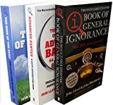 John Lloyd & John Mitchinson, QI Collection 3-Book Pack (The Noticeably Stouter QI Book of General Ignorance, QI The Book of the Dead, The QI book of the Advanced Banter)