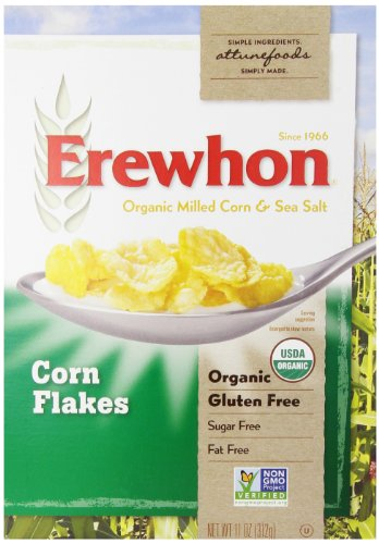 Erewhon Cereal, Organic, Corn Flakes, Gluten Free, 11 Ounce (Erewhon Gluten Free Corn Flakes compare prices)