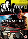 Shooter/The Italian Job/Four Brothers [DVD]
