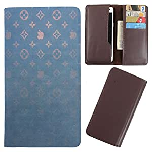 DooDa - For Videocon A24 PU Leather Designer Fashionable Fancy Case Cover Pouch With Card & Cash Slots & Smooth Inner Velvet