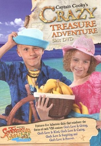 Captain Cooky's Crazy Treasure Adventure Skit DVD