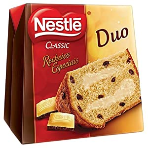 Recheio com Chocolate Branco - 500 g - (PACK OF 03) : Grocery