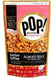 Pop Gourmet Popcorn, Almond Roca Butter Toffee