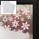 Snowflake Window Clings (69 pc)