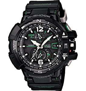Casio - G-Shock - G-Aviation Series - GWA1100-1A3 by Casio - G-Shock