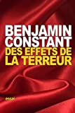 img - for Des effets de la Terreur (French Edition) book / textbook / text book