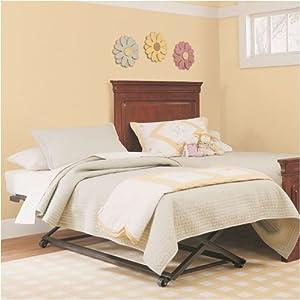 Twin Pop Up Trundle Bed Childrens Bedroom Furniture