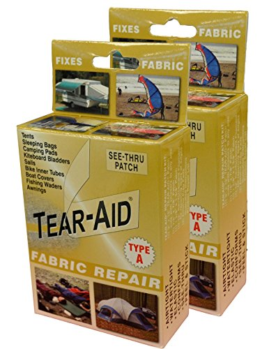 Tear-Aid Fabric Repair Kit, Gold Box Type A (2 Pack) (Type Fabric compare prices)
