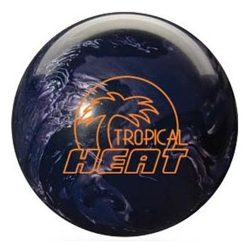 Storm Tropical Heat Bowling Ball- Black/Silver