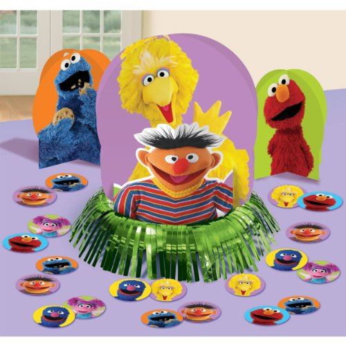 Elmo Sesame Street Party Table Decorations Kit ( Centerpiece Kit ) 23 PCS - Kids Birthday and Party Supplies Decoration - 1