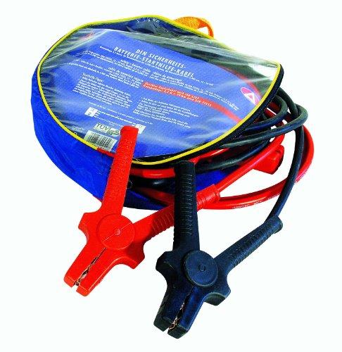 Alpin 400321 DIN Starthilfekabel 16mm, 3m, Zipptasche