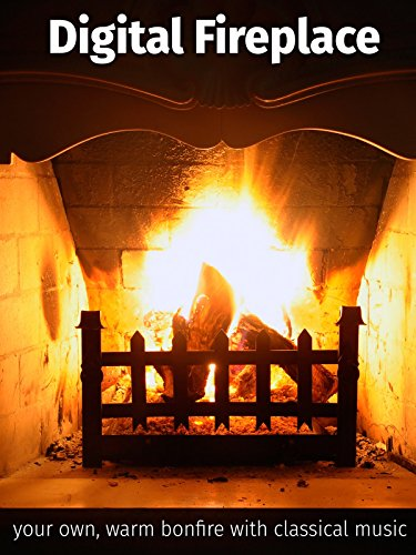 Digital Fireplace Your Own Bonfire With Classical Music