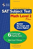 SAT Subject Test: Math Level 2 (REA) -- The Best Test Prep for the SAT II: 7th Edition (SAT PSAT ACT (College Admission) Prep) (0738601136) by The Editors of REA