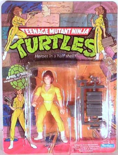 Teenage Mutant Ninja Turtles> April O'Neil Original 1988 with Blue Stripe (Teenage Mutant Ninja Turtles 1988 compare prices)