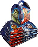 Set Of 6 Marvel Avengers Assemble Boys Party Food Or Loot Boxes