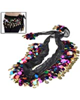 BestDealUSA Fashion Shining Multi Color Sequins Coin Belly Dance Hip Scarf