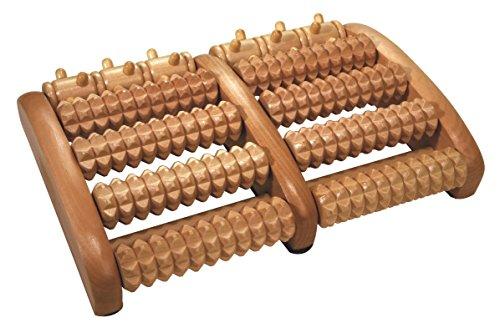 Croll & Denecke Fußroller, aus Holz, 2 x 5 Rollen
