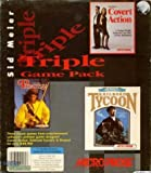 Sid Meier Triple Game Pack - Pirates / Covert Action / Railroad Tycoon