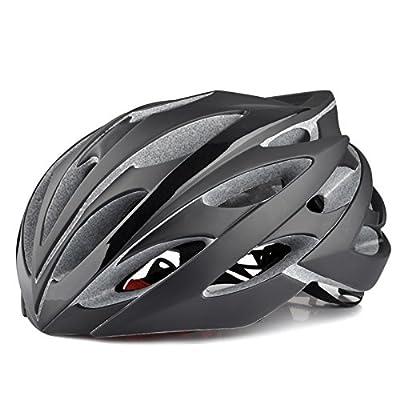 Mens Womens Bike bicycle Helmets Adjustable Black Size 54-60cm from Powerbank2013