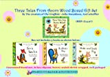 Julia Donaldson Three Tales From Acorn Wood Board Book Boxed Gift Set - 3 Books RRP: £14.97 Box Set includes: 1. Hide and Seek Pig 2. Fox's Socks 3. Rabbit's Nap by Julia Donaldson Axel Scheffler : The Creators of The Gruffalo (By the Creators of Th