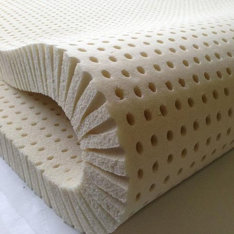 Pure Green 100% Natural Latex Mattress Topper - Soft - 3