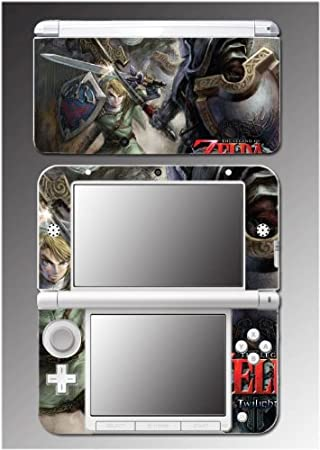 Legend of Zelda Twilight Princess Video Game Vinyl Decal Cover Skin Protector 4 for Nintendo 3DS XL