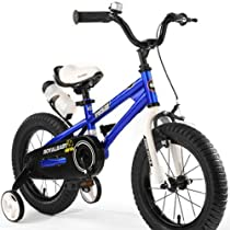 Royalbaby Kids Bikes, Bmx Freestyle Bikes, 12 Inch, Boys Bikes, Girls Bikes, Steel Frames, Best Gifts for Kids(blue, 12 inch)