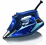 Rowenta DW9280 Steam Force iron with new 400-hole Stainless Steel Soleplate 1800 Watt, Blue