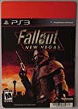 BACKER CARD FOR: FALLOUT: NEW VEGAS - PS3 - (Not The Video Game)