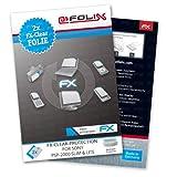 atFoliX - Protector de pantalla para Sony PSP-2000 Slim & Lite (2 unidades), transparente