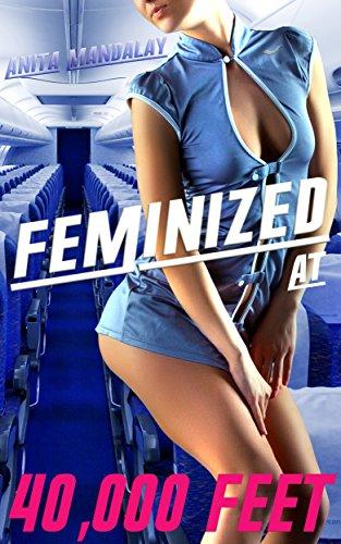 Feminized at 40,000 Feet ( Forced Feminization, Sissification & Humiliation ) (English Edition)