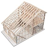 Midwest Products 105-IC 2-Story Townhouse Crafts Kit for Grades 6-12