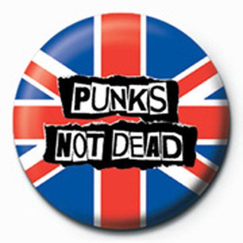 Fun-Punks No Dead-Racchette Button da 2,5cm