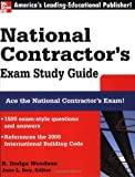 img - for National Contractor's Exam Study Guide (McGraw-Hill's National Contractor's Exam Study Guide) book / textbook / text book