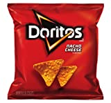 Doritos Tortilla Chips, Nacho Cheese, 2.875 Ounce (Pack of 28)