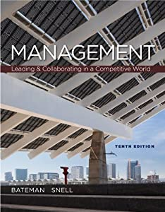 Management : Leading & Collaborating In The Competitive World