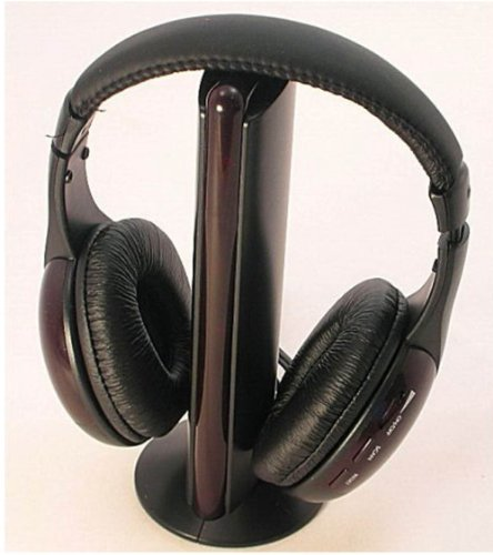 Fm Hifi Wireless 5 In 1 Super Bass Headphones