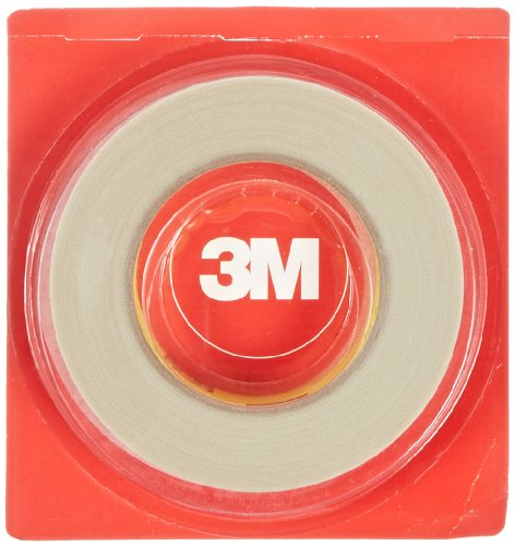 3M Glass Cloth Tape 361 White, 1 In X 60 Yd 7.5 Mil (Pack Of 1)