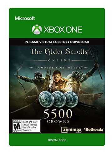 The Elder Scrolls Online Tamriel Unlimited Edition 5,500 Crowns - Xbox One Digital Code (The Elder Scrolls Online compare prices)