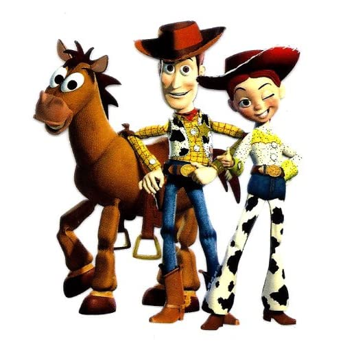 Toy Story ~ Woody Jessie Bullseye Cowboy Disney Iron On Transfer for T
