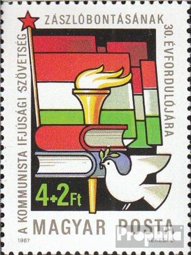 Ungarn 3885A (kompl.Ausg.) gestempelt 1987 Jugendorga. der Kommunisten (Briefmarken für Sammler)