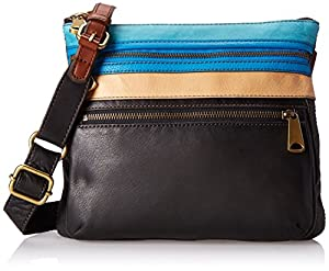 Fossil Expolrer CB Cross Body Bag,Blue Multi,One Size