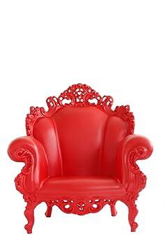 Magis Proust Sillón 90x 104x 105cm), color rojo mate
