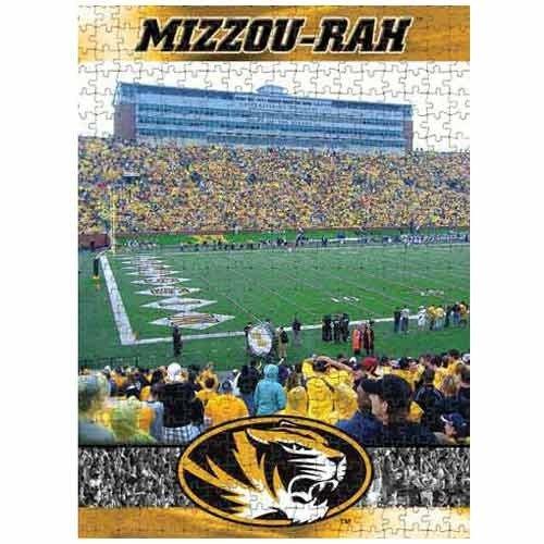Cheap Fun Racing Reflections Missouri Tigers 18X22 550 Piece Jigsaw Puzzle (B002QVYC1Y)