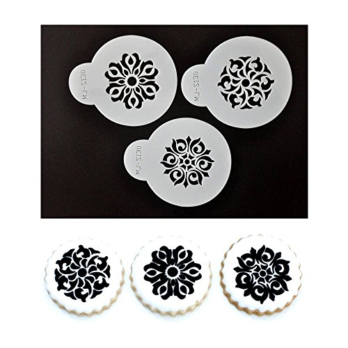 vycloudtm-anself-s130-cake-stencil-coffee-stenciling-chocolate-cookie-stencils-baking-cake-tool