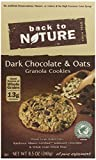 Back To Nature Cookies, Dark Chocolate and Oats Granola, 8.5 Ounce