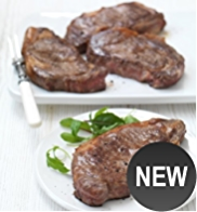 4 Aberdeen Angus Thick Cut Sirloin Steaks