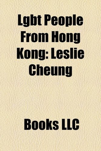 Lgbt People from Hong Kong