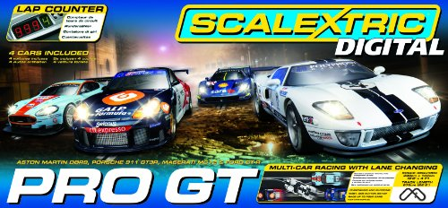 Scalextric C1260 Pro GT 1:32 Scale Race Set