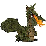 Papo 39025 Green Winged Dragon with Flame